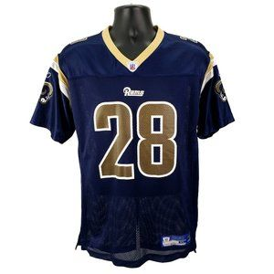Marshall Faulk #28 Reebok Rams Jersey Youth XL